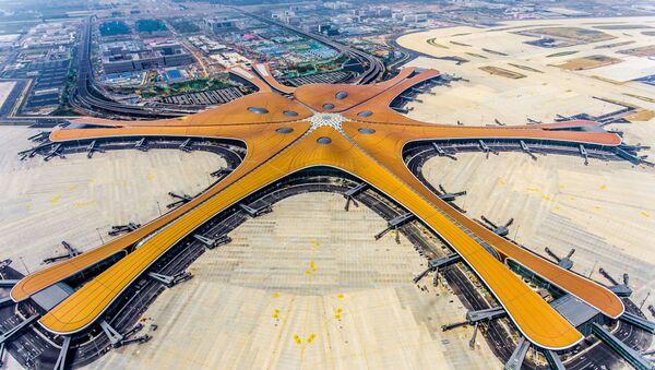 El Aeropuerto Internacional de Pekín-Daxing, el más grande del mundo - Sputnik Mundo