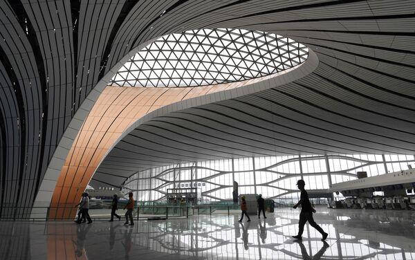 El Aeropuerto Internacional de Pekín-Daxing - Sputnik Mundo