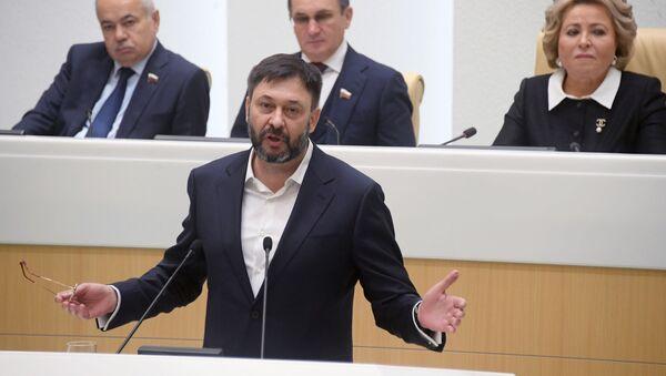 Kiril Vishinski, el director del portal RIA Novosti Ukraina - Sputnik Mundo