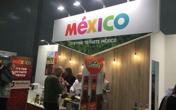 El stand de México en feria WorldFood en Moscú, Rusia - Sputnik Mundo