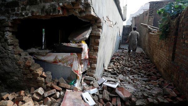 Un terremotoen el norte de Pakistán - Sputnik Mundo