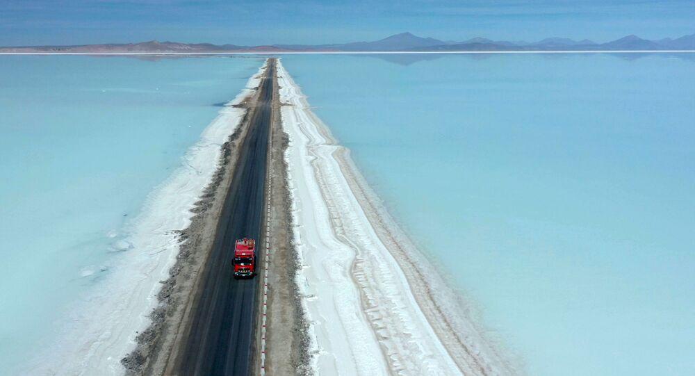 La industrialización del litio del salar de Uyuni