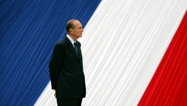 Jacques Chirac, el expresidente de Francia - Sputnik Mundo