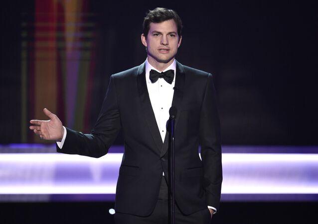 Ashton Kutcher, el actor estadounidense