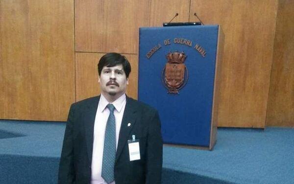 El Dr. Mario Duarte, experto en ciberseguridad y ciberdefensa - Sputnik Mundo