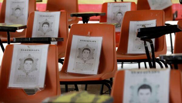 Los retratos de los studentes desaparecidos en Ayotzinapa - Sputnik Mundo