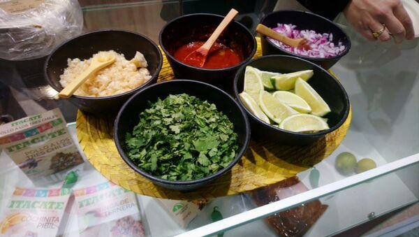 Los alimentos mexicanos en la feria alimentaria internacional WorldFood en Moscú - Sputnik Mundo