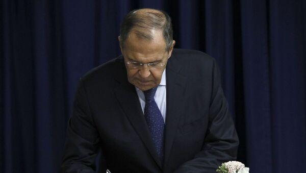 Serguéi Lavrov, el ministro de Exteriores ruso - Sputnik Mundo