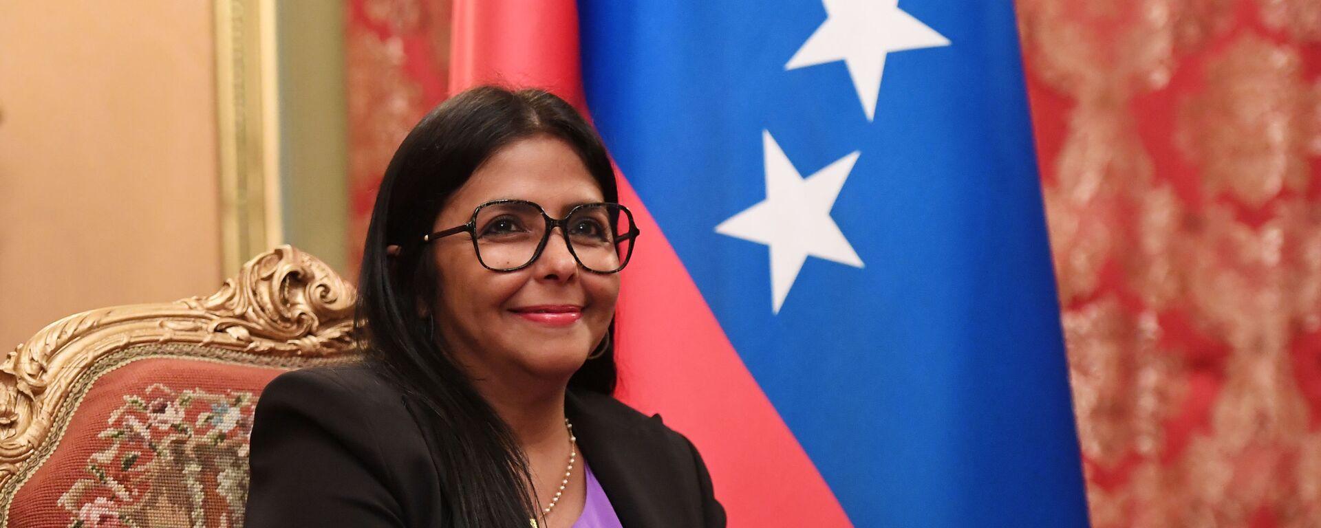 Delcy Rodríguez, vicepresidenta de Venezuela - Sputnik Mundo, 1920, 18.08.2021