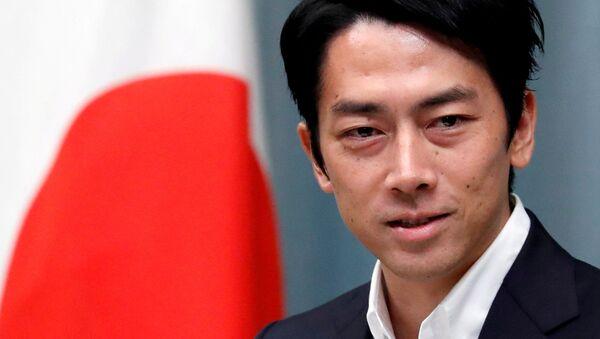 Shinjiro Koizumi, ministro de Medio Ambiente japonés - Sputnik Mundo