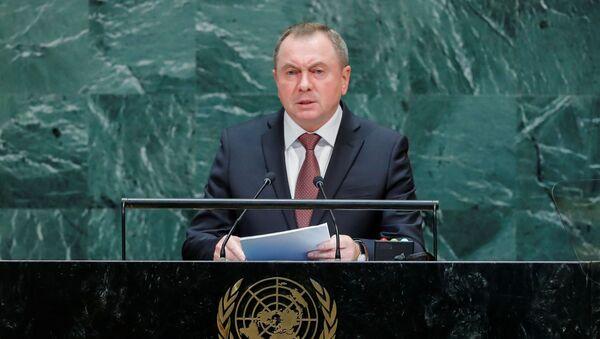Vladímir Makei, canciller de Bielorrusia - Sputnik Mundo