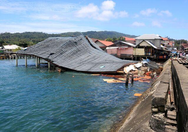 Consecuencias del terremoto en Indonesia