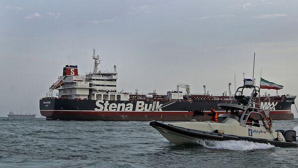 El buque petrolero Stena Impero - Sputnik Mundo