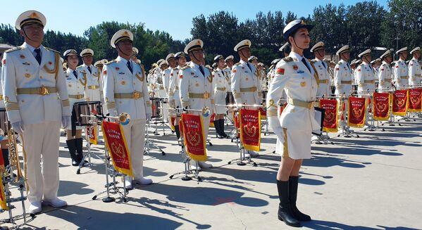 Репетиция парада в честь 70-летия образования КНР - Sputnik Mundo
