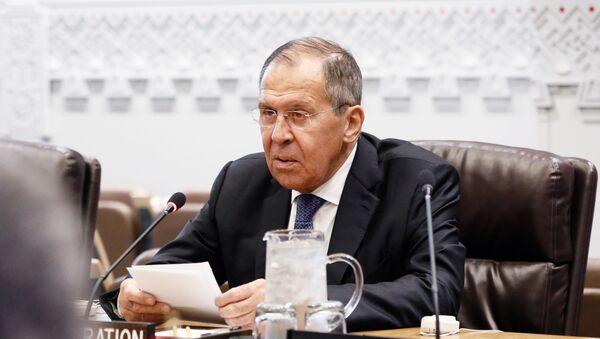 Serguéi Lavrov, el canciller ruso - Sputnik Mundo