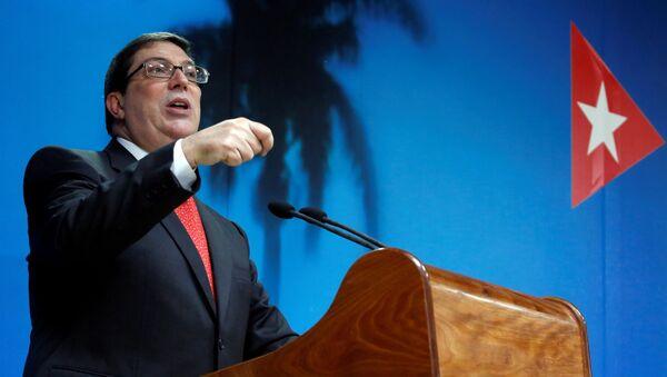 Bruno Rodríguez Parrilla, el canciller cubano - Sputnik Mundo