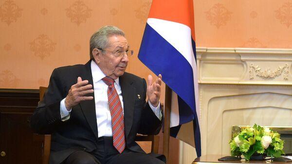 Raúl Castro, expresidente de Cuba - Sputnik Mundo