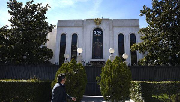 La embajada de Rusia en Madrid - Sputnik Mundo