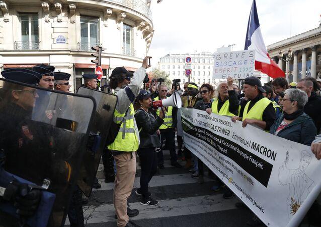 Protestas de los 'chalecos amarillos' en París