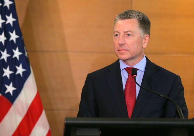 El representante especial de EEUU en Ucrania, Kurt Volker