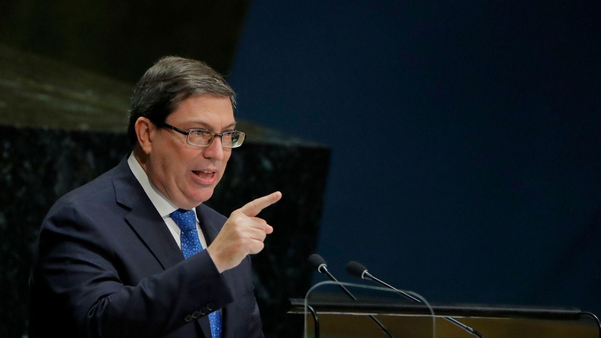 Bruno Rodríguez Parrilla, ministro de Exteriores de Cuba - Sputnik Mundo, 1920, 03.09.2021