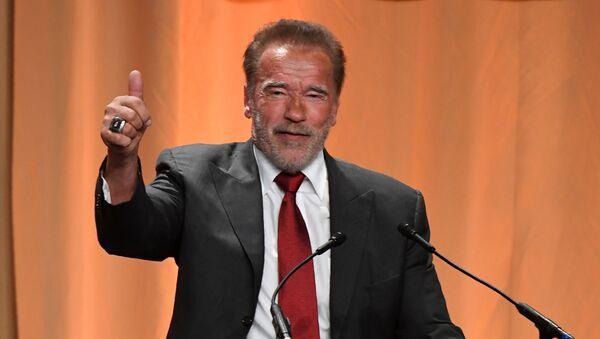 Arnold Schwarzenegger, actor austríaco nacionalizado estadounidense - Sputnik Mundo