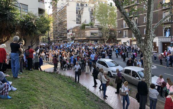 Marcha del 'Sí, se puede' en Buenos Aires - Sputnik Mundo