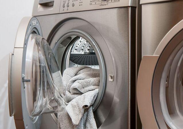 Una lavadora (referencial)