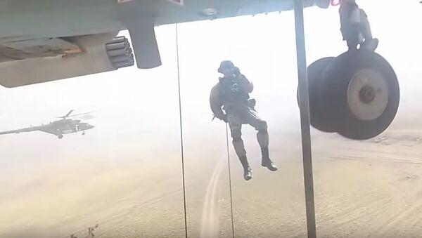 Un combate visto con los ojos de un soldado - Sputnik Mundo