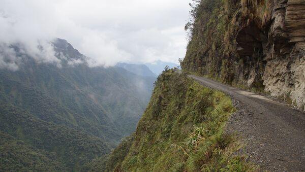 Carretera boliviana (imagen referencial) - Sputnik Mundo