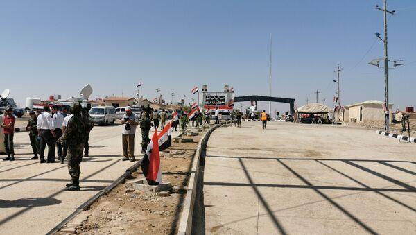 El puesto de control fronterizo de Abu Kamal/Al Qaim - Sputnik Mundo