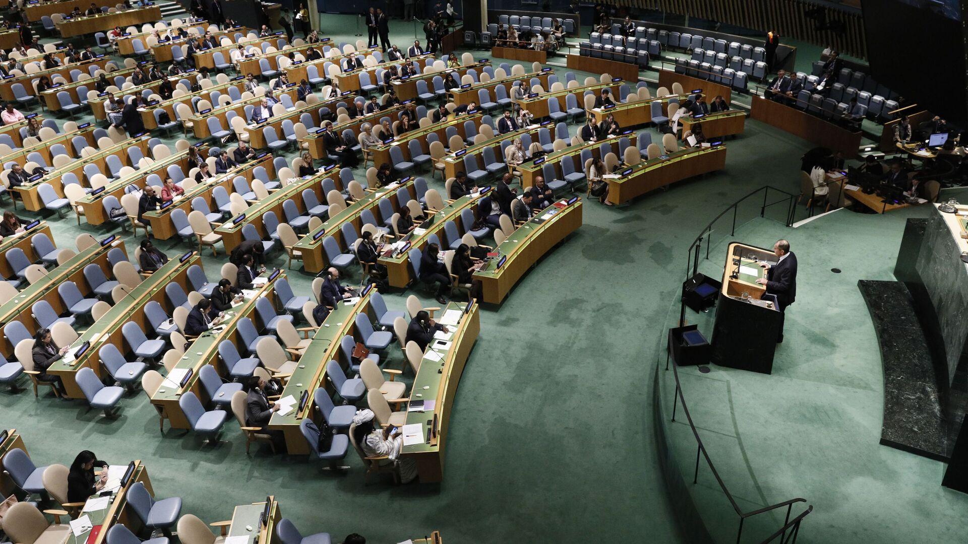 74º período de sesiones de la Asamblea General de las Naciones Unidas en Nueva York - Sputnik Mundo, 1920, 24.06.2021