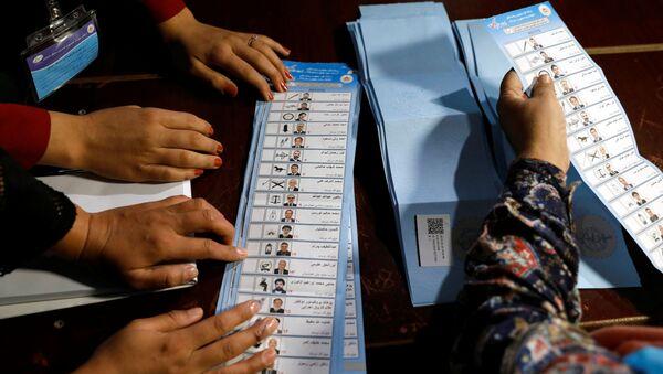 Las elecciones en Afganistán - Sputnik Mundo