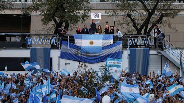 Mauricio Macri, tras la victoria del oficialismo en las elecciones provinciales - Sputnik Mundo
