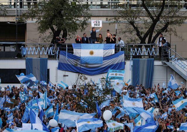 Mauricio Macri, tras la victoria del oficialismo en las elecciones provinciales
