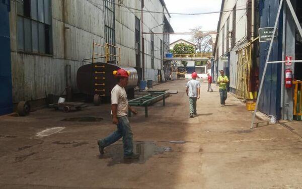 Interior del central azucarero, Ureña, estado de Táchira, Venezuela - Sputnik Mundo