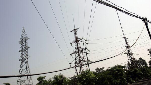 Líneas de electricidad en Vietnam, imagen referencial - Sputnik Mundo