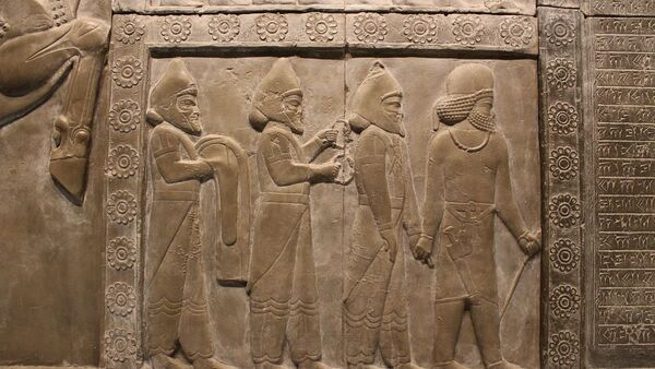 Una imagen de la antigua Babilonia - Sputnik Mundo