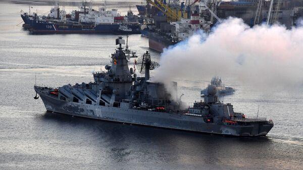 El crucero lanzamisiles Variag - Sputnik Mundo