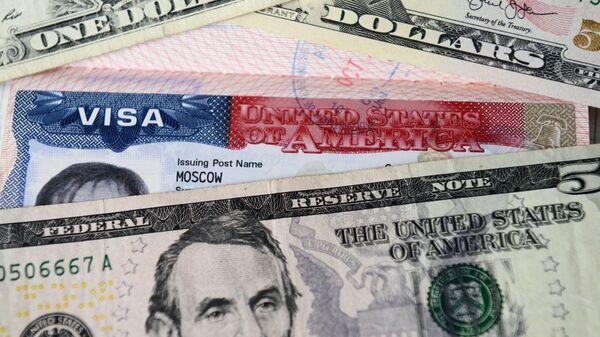 El visado de EEUU (imagen referencial) - Sputnik Mundo