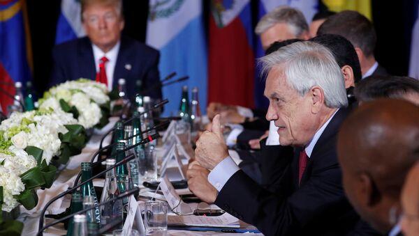 Sebastián Piñera, el presidente de Chile - Sputnik Mundo