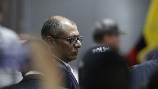 Jorge Glas, exvicepresidente de Ecuador (archivo) - Sputnik Mundo