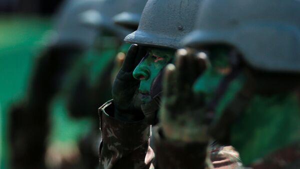Los soldados de Brasil - Sputnik Mundo