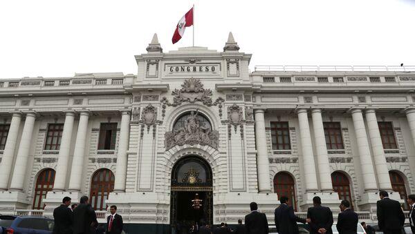 Parlamento de Perú - Sputnik Mundo