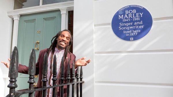 La casa de Bob Marley en Londres es marcada con la placa azul de la Herencia Inglesa - Sputnik Mundo