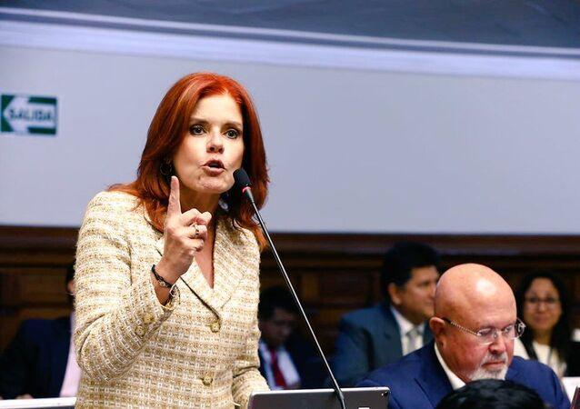 Mercedes Aráoz, vicepresidenta y congresista de Perú