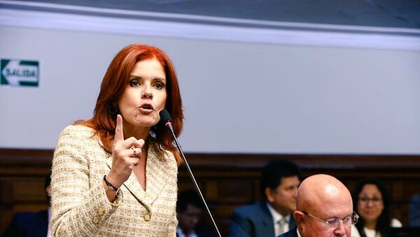 Mercedes Aráoz, vicepresidenta y congresista de Perú - Sputnik Mundo