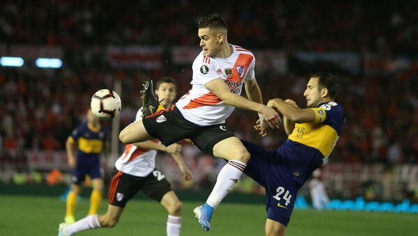 River Plate y Boca Juniors juegan en la semifinal de la Copa Libertadores  - Sputnik Mundo