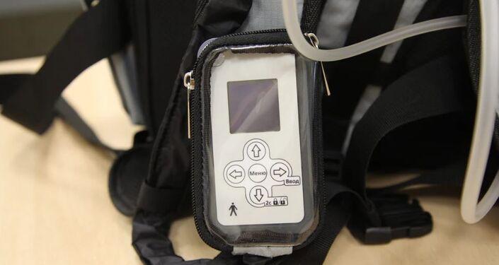El control remoto con el que funciona el riñón artificial portátil