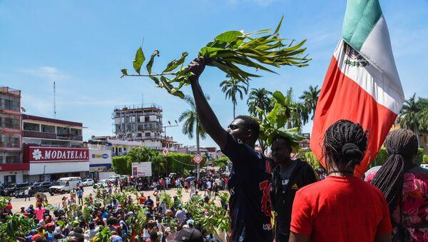 Migrantes africanos en Tapachula, México - Sputnik Mundo